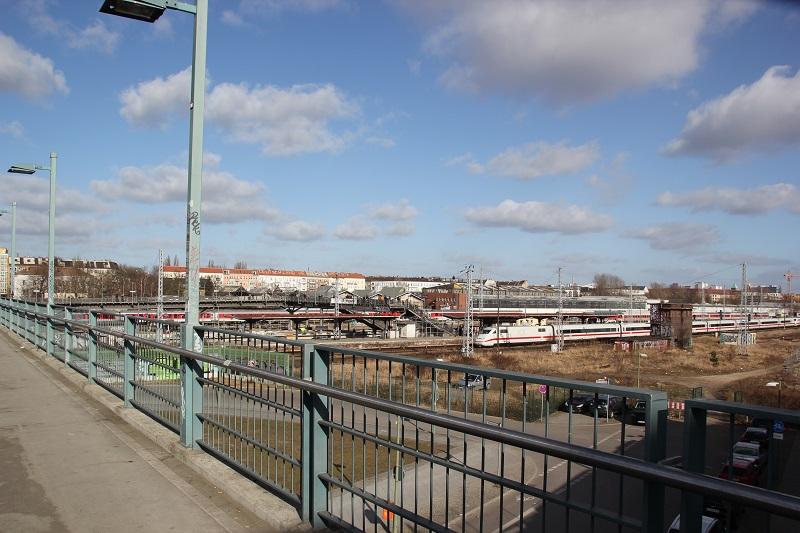S-Bahn Gelände Warschauer Straße Friedrichshain