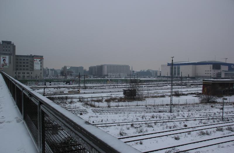 Warschauer Brücke Schienen
