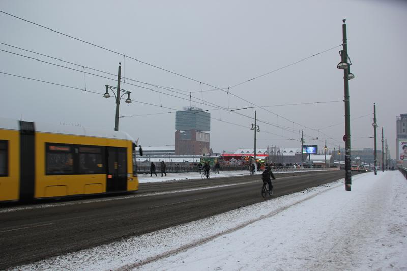 Warschauer Brücke Friedrichshain