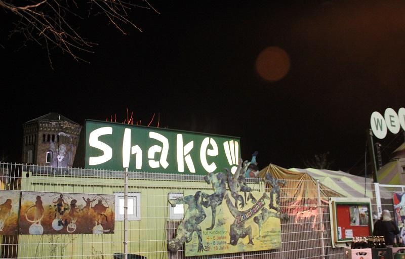 Shake Zelt am Ostbahnhof