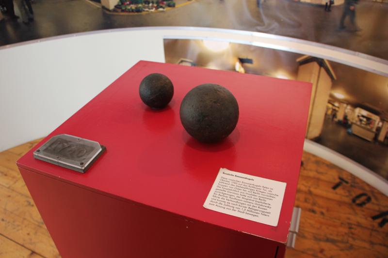 Kanonenkugeln 18. Jahrhundert