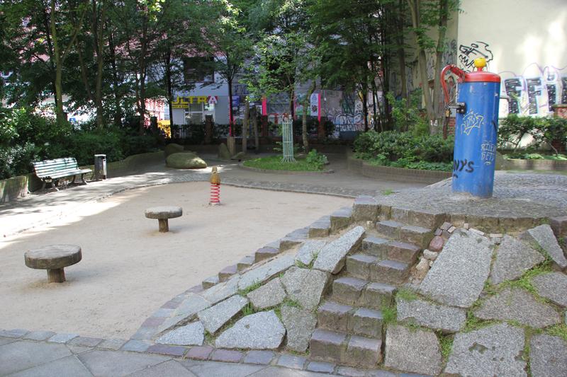 Spielplatz neben dem Museum