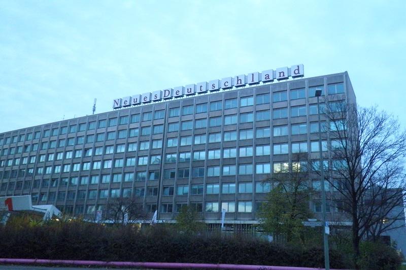 Neues Deutschland Friedrichshain