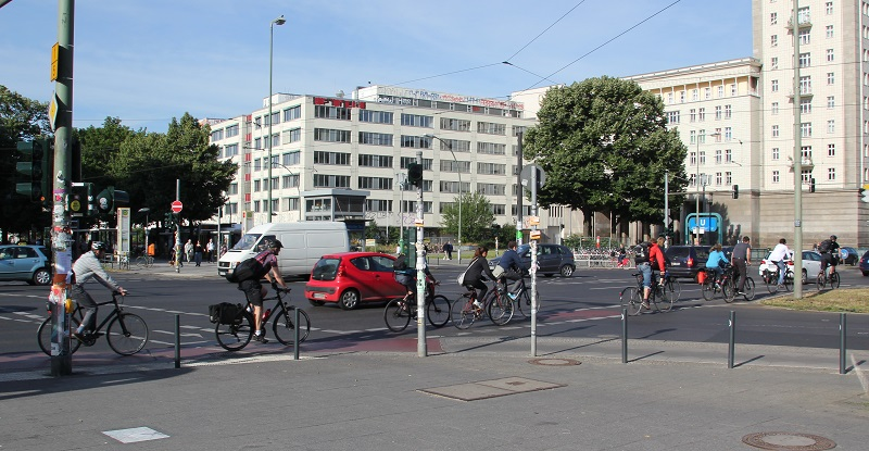 Radverkehr Frankfurter Tor