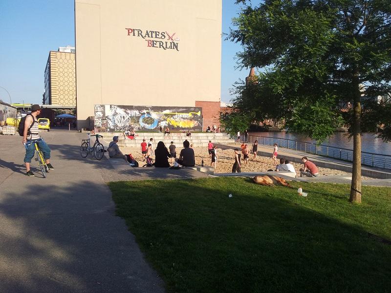 Volleyballplatz Spree Pirates Berlin