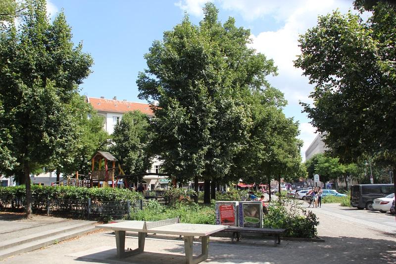 Schleidenplatz Friedrichshain