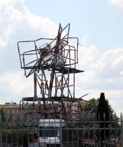 Skulptur Spreespeicher