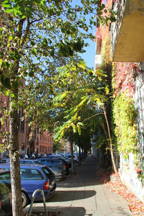 Herbst Rigaer Strasse