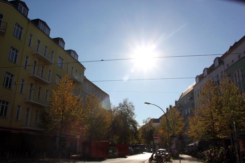 Herbst Simon-Dach-Strasse