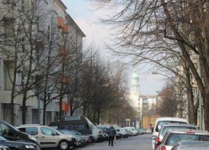 Strasse Friedrichshain