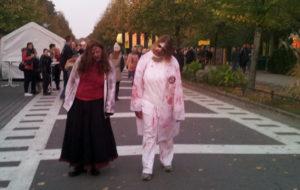 Zombies und Geist aus 13 Geister
