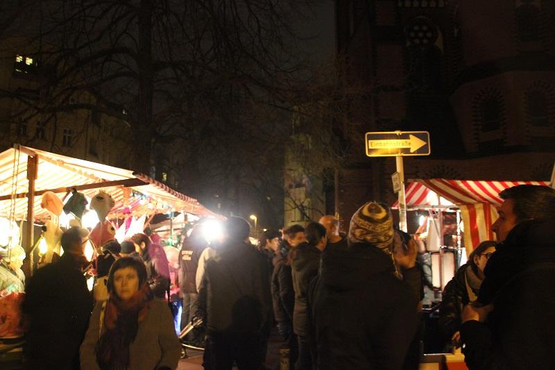 Weihnachtsmarkt Samariterkirche Friedrichshain
