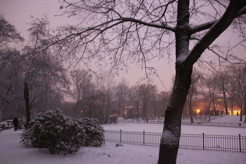 Winter in Friedrichshain