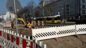 Uebergaenge Warschauer Strasse