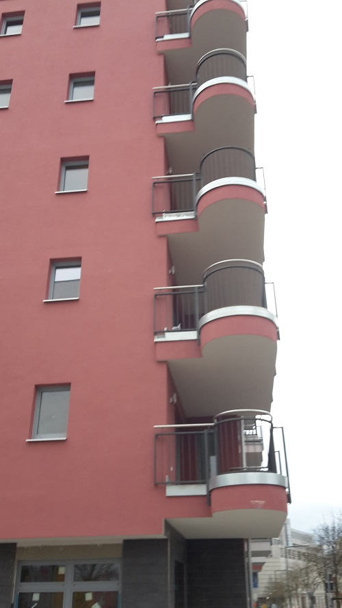 Runde Balkons