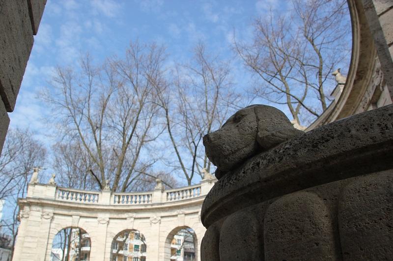 Renaissance Boegen Maerchenbrunnen Volkspark Friedrichshain