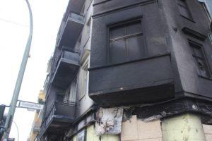 Verrusster Balkon