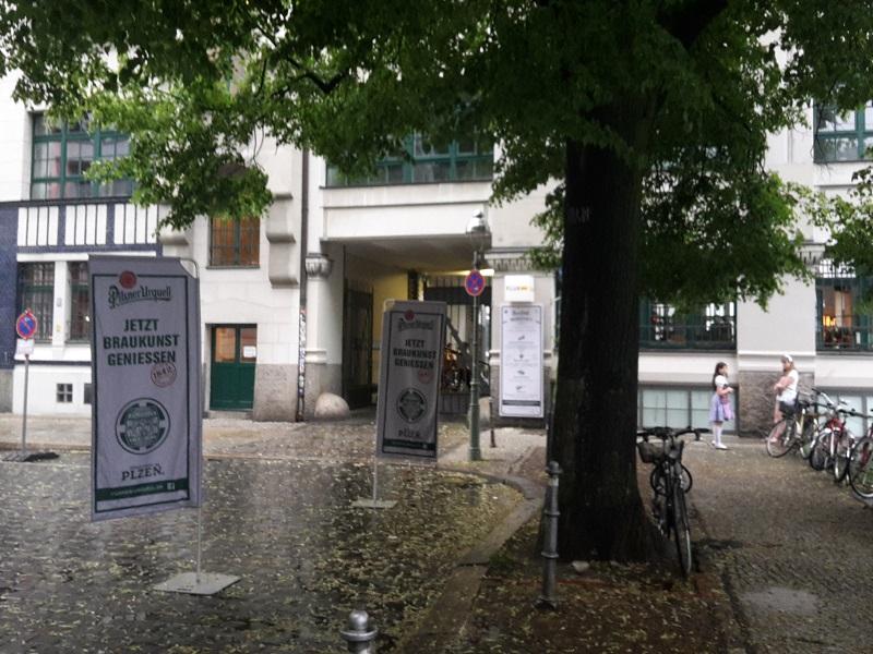 Fluxbau Eingang