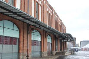 Postbahnhof Eingang