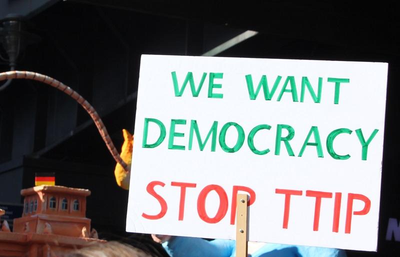 Demokratie statt TTIP
