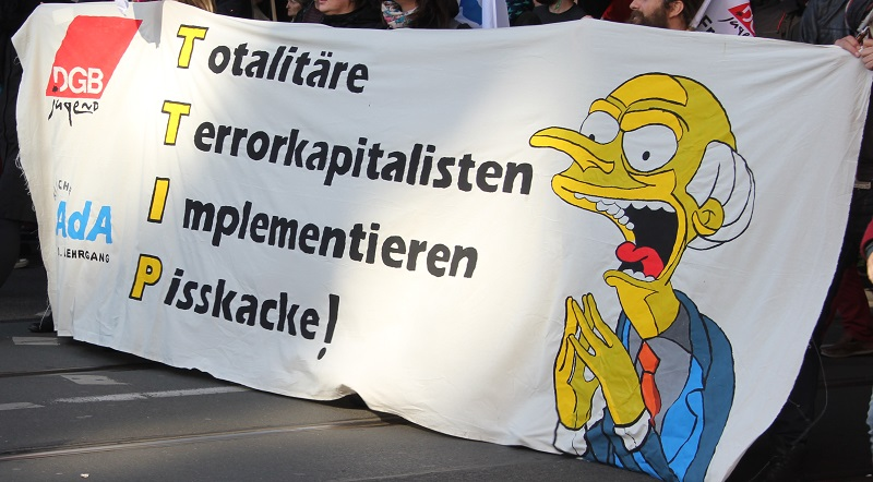 TTIP Mr Burns