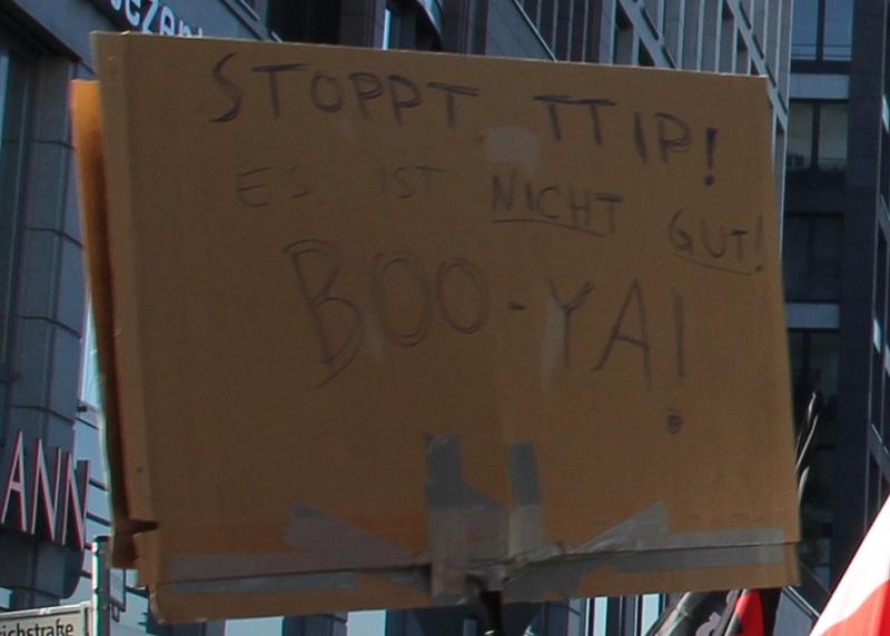 TTIP nicht gut