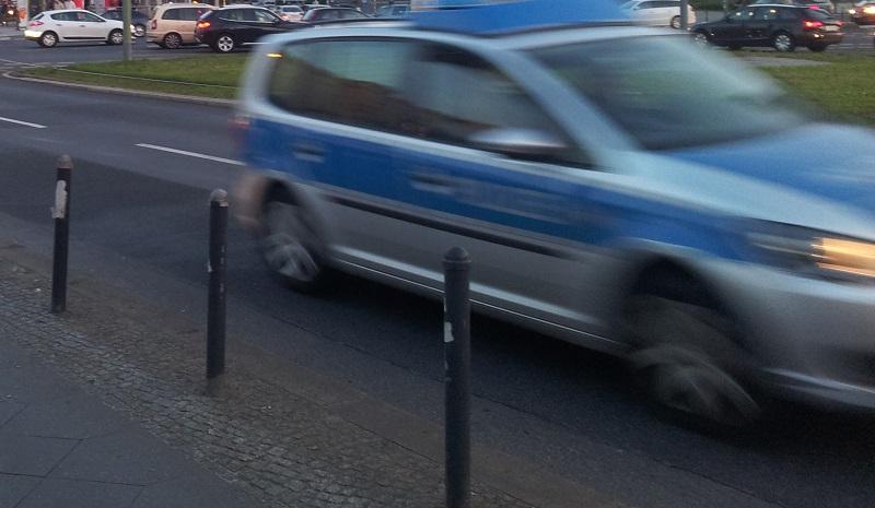 Polizei Auto Friedrichshain