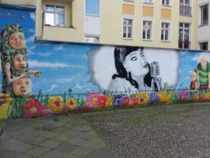 Bemalte Wand 1