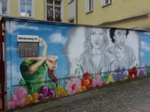 Bemalte Wand 2