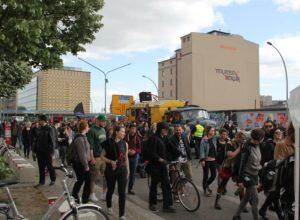 Demonstrationszug Karneval der Subkulturen