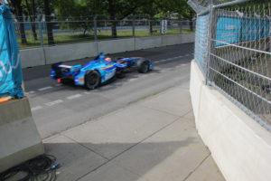 E Auto Formel E Rennen Friedrichshain