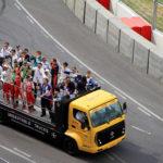 Fahrerrunde Formel E Rennen