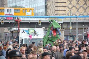 Figuren des Karnevals der Subkulturen