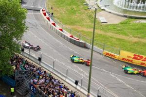 Formel E Rennen Strausberger Platz