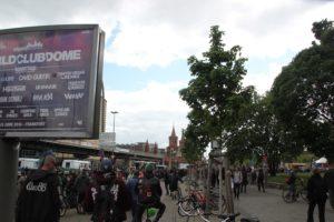 Kreuzung Warschauer Muehlenstrasse Karneval der Subkulturen