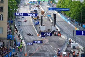 Spitze Formel E Rennen