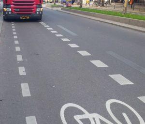 Lkw Radweg