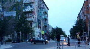 Klappern Rigaer Ecke Liebigstrasse Friedrichshain