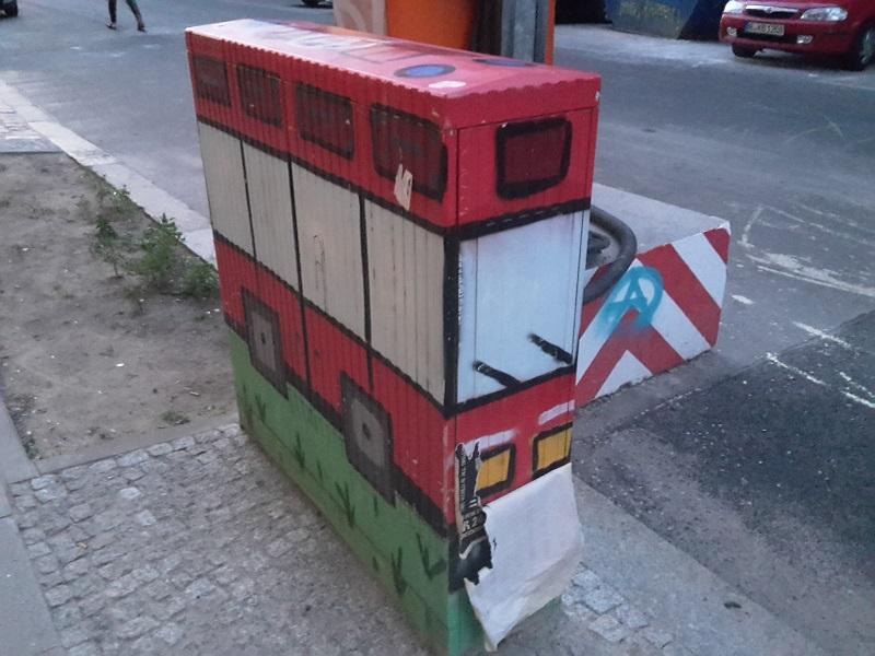 Stromkasten Bus