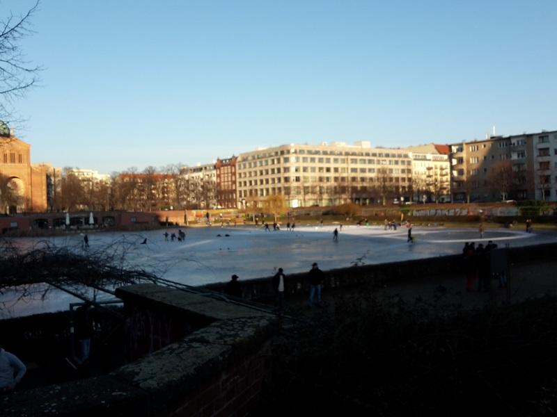 Eislaufen Engelbecken Kreuzberg