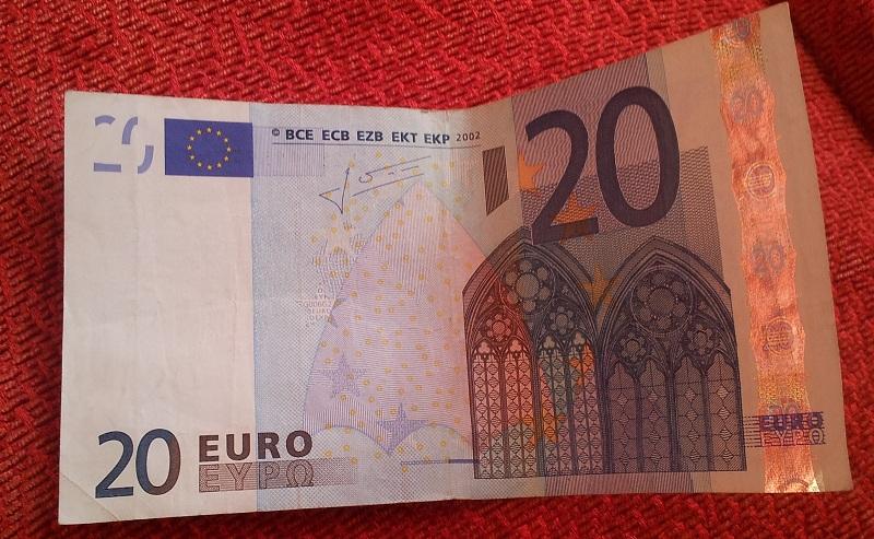 20-Euro-Geldschein