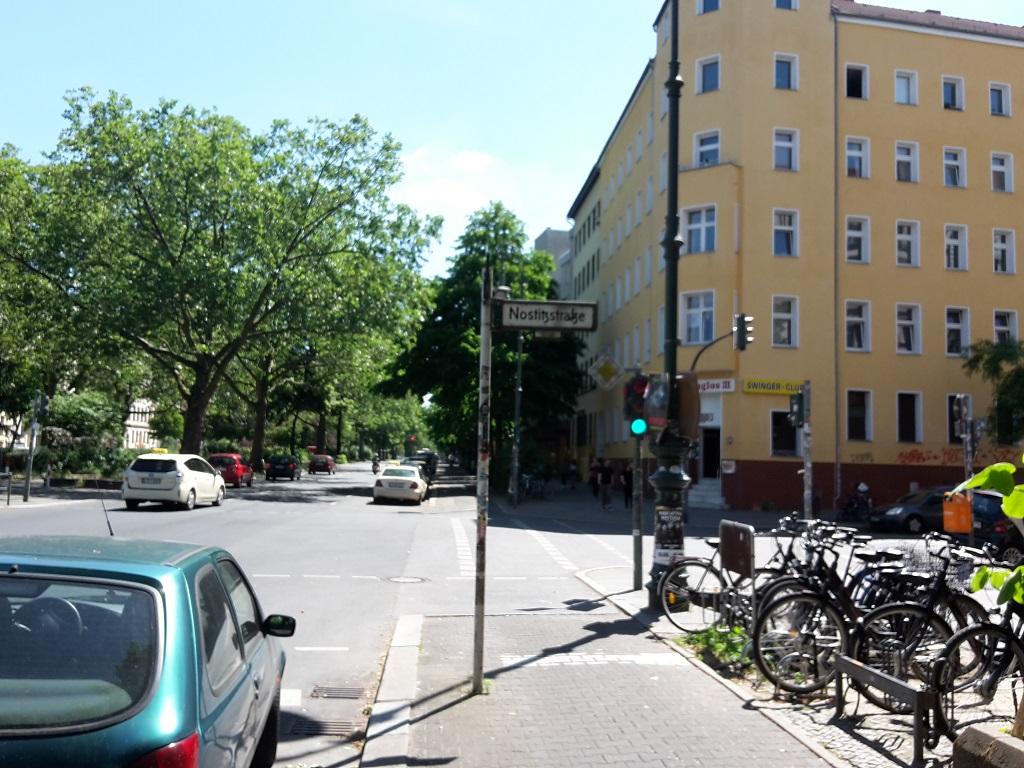 Gneisenauer Nostitzstrasse Ampel