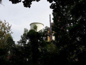 Vattenfall Anlage am Teltow Kanal