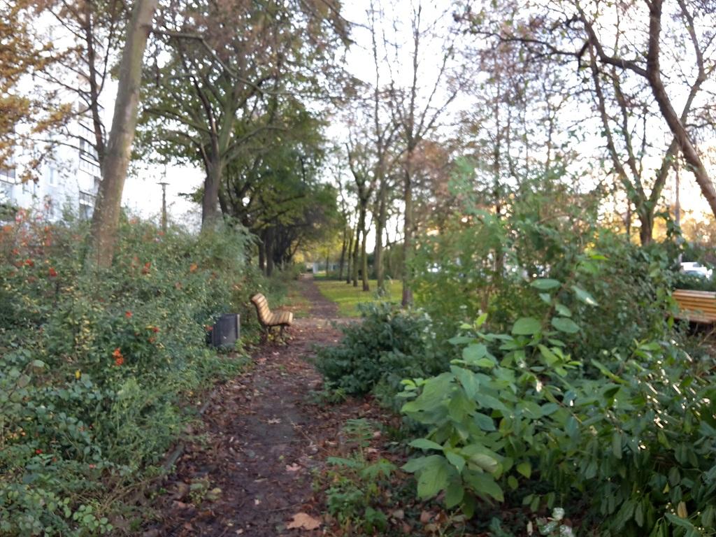 Park um Brunnen KMA Friedrichshain