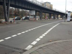 Radweg Gitschiner Strasse Kreuzberg