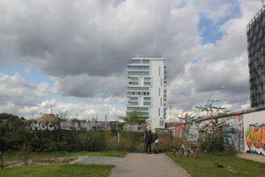 Baustelle Hotel-Wohnkomplex Spree Friedrichshain
