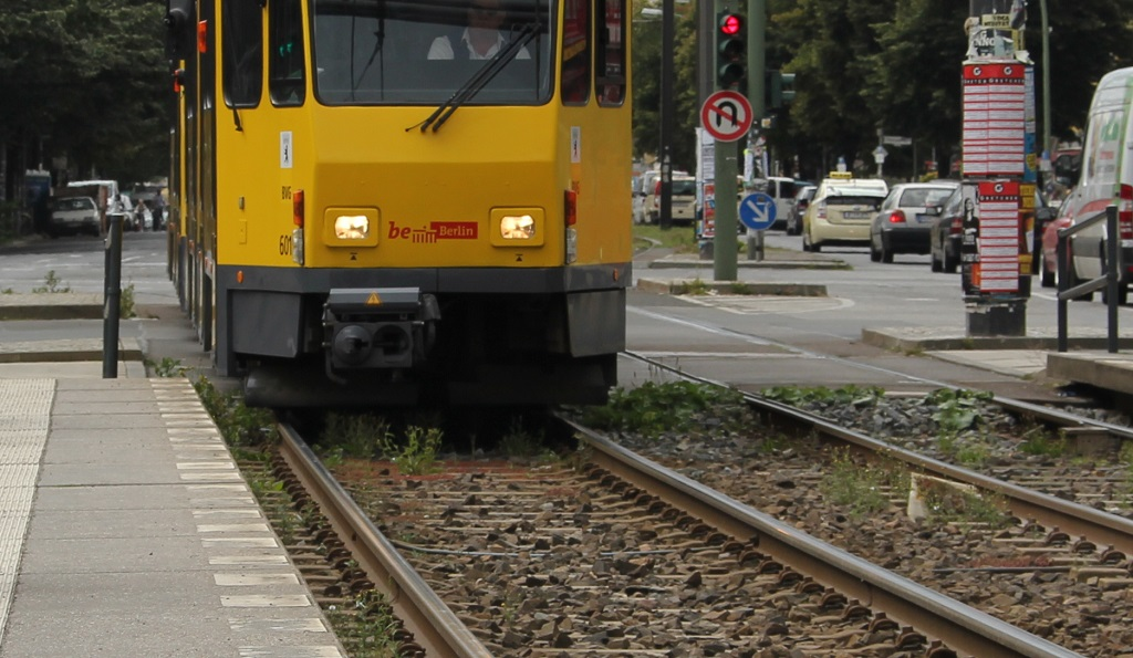 Tramlinie Berlin
