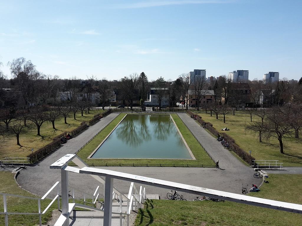 Otto Lilienthal Denkmal Lichterfelde
