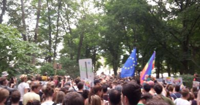Tiergarten Nazi Kundgebung stoeren