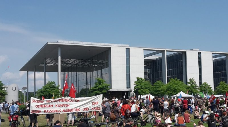 Transpis Reichstagswiese